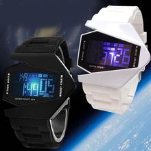 2015 plane led watch Cheaper sport ion digital silicone watch ion led accept paypal