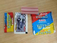 orbital bubble gum/world famous car paper with turbo bubble gum
