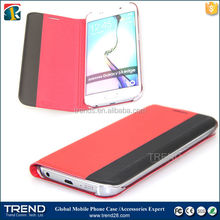 buy direct from china factory eco-friendly soft leather case for samsung galaxy s6 edge