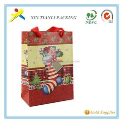 3D Printed Paper Bag Christmas Bag In Stock in stock,christmas gift bag