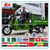 durable Greece 250cc300cc mini 3-wheeler motorcycle with big trailer made in China