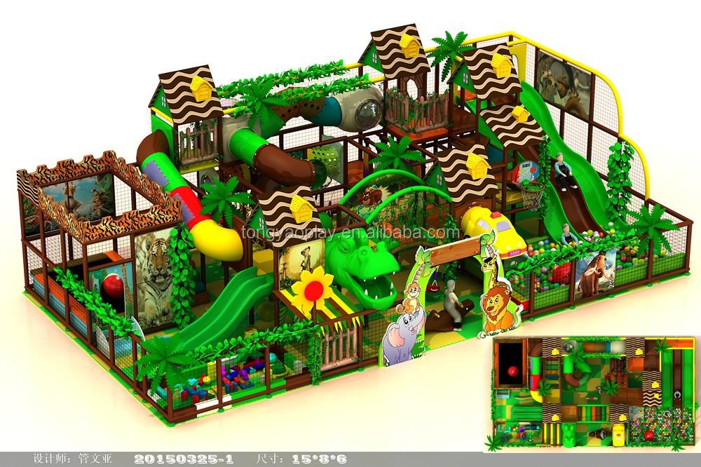 2016 nuevo diseño comercial niños juguete del patio interior del ...