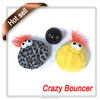 Interactive pet toy, bouncing pet ball for dog and cat