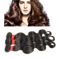 HOT Aliexpress hair Fast delivery best quality natural black 6a cheap brazilian hair bundles wholesale brazilian hair