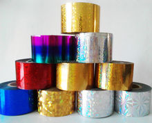 Hot Selling 120M with 46 colors nail foil adhesive