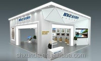 Graphic changeable exhibition booth material for trade show