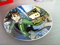placas de cerámica con impresión de colores