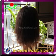 SH training head with hair,natural hair direction,training mannequin head with hair
