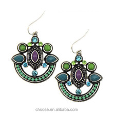 Pretty retro silver elgant earring designs, women earrings wholesale