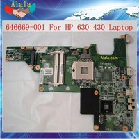 Intel Mainboard For HP 630 430 Laptop Motherboard 646669-001 Tested OK