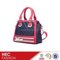 new designer lady fashion leather bags handbag vintage style shoulder bag pattern for women