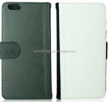 2015 High Quality Sublimation Flip Leather Phone Cover Case For iPhone6 Plus
