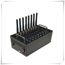 Repeater 8 channels usb/rs232 8 port gsm modem 850/900/1800/1900Mhz referee communication