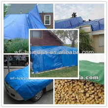 Waterproof double blue green,silver,orange agriculture tarpaulins 55 gr/mp-60gr/mp