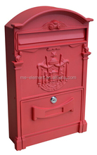 Powder Coated Letter Box,waterproof letterbox