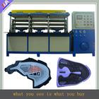 fábrica de dongguan vender sapatos pu superior que faz a máquina