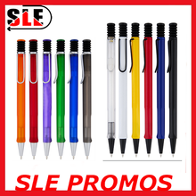 Hot selling Plastic ballpoint pen for promotion/advertising click ball pen