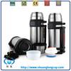 double wall vacuum thermos tea pot, travel pot