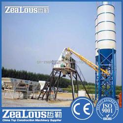 Zealous Machinery HZS25 Concrete Batching Plant small concrete batching plant