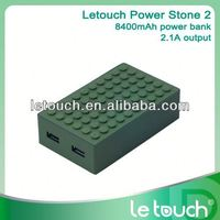 2013 New Portable mobile power bank 8400-20000mah/ Power pack / Power stick / Battery Bank for iPhone 5 8400mah