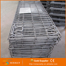 Customized Warehouse Folding Stacked Wire Mesh Logistic Cage for Sale