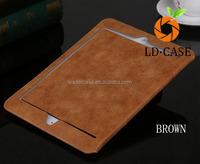 Italian elegance PU leather case for ipad air2 ,for ipad mini4,for sansung with Sleep / Wake Function
