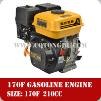 Powerful Excellent Gasoline Engine,170F 7.0HP 210cc 4 stroke air cooled engine