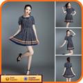 Moda de las ventas calientes nuevo modelo de vestido de la muchacha 2014