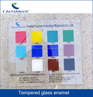 glass enamel glass pigment for architectural glass