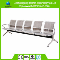 BT-ZC006 cheap stainless steel waiting chair for hospital