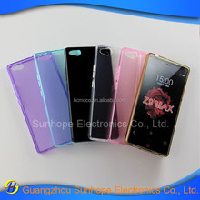 China Manufacturer glossy design clear tpu mobile phone back cover for ZTE Nubia Z9 Max case