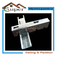 Galvanized Steel Furring Channel For Ceiling Or Drywall Metal Accessories