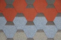 High quality mosaic asphalt roof tiles sales