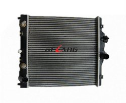 Aluminum auto engine radiator with oil cooler for HONDA CIVIC 1991-1995 1995-2001 OE No# 19010P03901(DL-B063A)