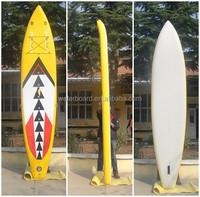 most popular fastest shape sup race surfboard/air sup race boad/tabla de surf realizado en China