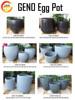 Pedestal Plant Planter Urns Big Flower Vase Durable Garden Pots