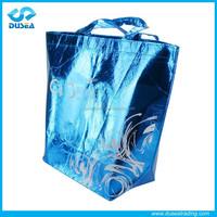 2015 Popular reusable high quality laser non woven shopping bag