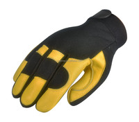 Deerskin leather comfortable glove