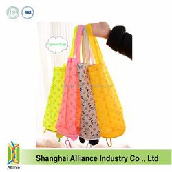 2015 New Arrival Good Quality Eco-friendly Cartoon Folding Shopping Bag