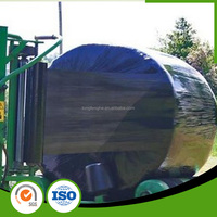 Black/White/Green PE Silage Stretch Film Sun Wrap For Agriculture