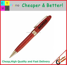 Cheap carved wood pen