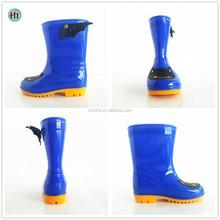 Cute Wings PVC Rain Boots For Kids