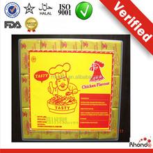 Directamente precio de fábrica de pollo ingredientes benny pollo bouillon en polvo