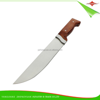 """ZY-B50033 7"""" hot selling 3cr13 blade rosewood handle chef knife"""