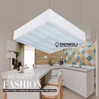 580*900 led flush mounted ceiling lamp lounge light