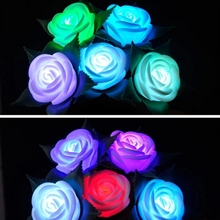 Wedding decoration LED red rose led light decorative inflatable flower
