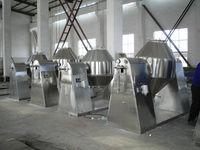 edible salt double cones vacuum dryer