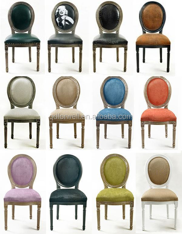 Gentil Luxury Leather White Side Chair Purple Fabric Louis Chair French ...