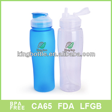 Acceptable Hard Plastic water bottle for drinking