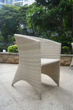 Outdoor Garden Rattan Cube space saving dining table and chairs